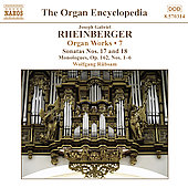 Rheinberger: Organ Works, Vol 7 / Rübsam