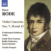 Rode: Violin Concerti / Pasquet, Eichhorn, et al