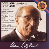 Copland conducts Copland - Our Town, The Red Pony, etc