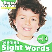 Sara Jordan: Singing Sight Words, Vol. 3