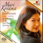 Beethoven: Piano Sonatas Opp. 14, 49 & 78 / Kodama
