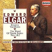 Elgar: Enigma Variations, Wand of Youth Suites / Marriner