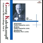 Georg Kulenkampff: Concerto Recordings Vol. 2