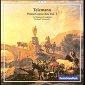 Telemann: Wind Concertos Vol. 5