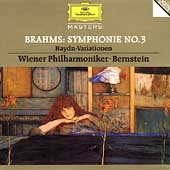 Brahms: Symphonie no 3, etc / Bernstein, Vienna PO