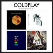 Coldplay: 4 CD Catalogue Set: Parachutes/A Rush of Blood to the Head/X&Y/Viva La Vida *