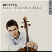 Britten: Suites for Solo Cello nos. 1-3 / Philip Higham, cello