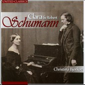 Piano music of Clara & Robert Schumann / Christina Bjorkoe, piano