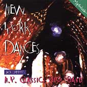 Jack Jeffers' N.Y. Classics Big Band: New York Dances