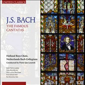 J.S. Bach: The Famous Cantatas / Holland Boys Choir; Netherlands Bach Collegium [5 CDs]