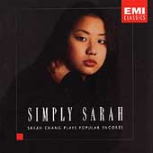 Simply Sarah - Popular Encores / Sarah Chang