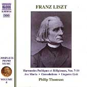 Liszt: Complete Piano Music Vol 4 / Philip Thomson