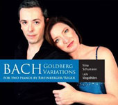 Bach's Goldberg Variations for Two Pianos by Rheinberger, Reger / Nina Schumann & Luis Magalhaes, pianos