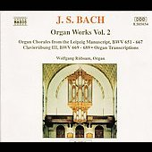 Bach: Organ Works Vol 2 / Wolfgang R&uuml;bsam