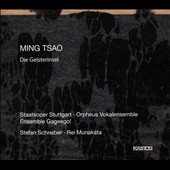 Ming Tsao (b.1966): Die Geisterinsel; Serenade; If ears were all that we neededà / Ajana Raj, Claudio Otelli, Daniel Kluge, Hans Kremer