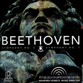 Beethoven: Symphonies Nos. 5 & 7 / Pittsburgh SO, Manfred Honeck