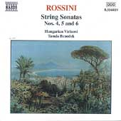 Rossini: String Sonatas Vol 2 / Benedek, Hungarian Virtuosi