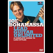 Joe Bonamassa: Lead Guitar Unlimited: Hot Licks