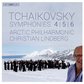 Tchaikovsky: Symphonies Nos. 4, 5 & 6 / Christian Lindberg, Arctic Philharmonic Orchestra
