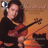 Heartbreak - Romantic Encores for Violin / Koljonen
