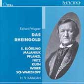 Wagner: Das Rheingold / Karajan, Bjorling, Malaniuk, et al