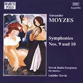 Moyzes: Symphonies no 9 & 10 / Slovák, Slovak Radio SO