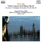 Elgar: Violin Concerto, Cockaigne Overture / Kang, Leaper