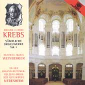 Krebs: Organ Works Vol 1 / Beatrice-Maria Weinberger