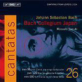 Bach: Cantatas Vol 26 / Suzuki, Nonoshita, et al