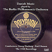 Danish Music played by the Berlin PO / Reesen, Hoeberg
