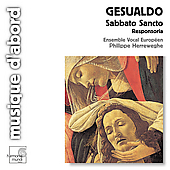 Gesualdo: Sabbato Sancto Responsoria / Herreweghe