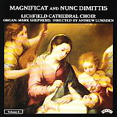 Magnificat and Nunc Dimittis Vol 3 / Lichfield Cathedral