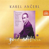 Ancerl Gold Edition 29 - Overtures / Czech PO