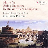 Music for String Orchestra by Italian Composers