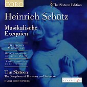 The Sixteen Edition - Schütz: Musikalische Exequien, etc / Christophers, et al