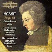 Mozart: Requiem / Goodman, Janowitz, Hanover Band, et al