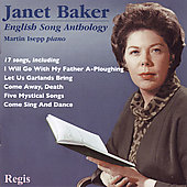 English Song Anthology / Janet Baker, Martin Isepp