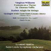 Vaughan Williams, Barber, Grainger / Slatkin, St Louis SO