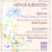 Artur Rubinstein plays Brahms and Schumann