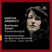 Beethoven, Mozart: Piano Concertos / Martha Argerich, et al
