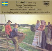 Tor Aulin: Concerto Piece in G minor; Violin Concerto No. 2