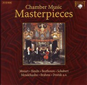 Chamber Music Masterpieces [Box Set]