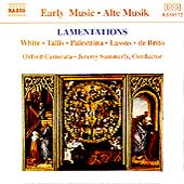 Lamentations / Summerly, Oxford Camerata
