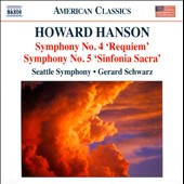Howard Hanson: Symphonies Nos. 4 & 5; Elegy / Gerard Schwarz