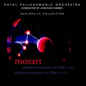 Mozart: Sinfonia Concertantes, K. 364 & K. 297b / Jonathan Carney