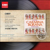 Orff: Carmina Burana / Sheila Armstrong, Gerald English, Thomas Allen