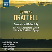 Deborah Drattell: Sorrow is not Melancholy / Goff, Shifrin, Schwarz