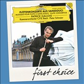 Flute Concertos at Sanssouci - Patrick Gallois, flute; Peter Schreier, C P E Bach Chamber Orchestra