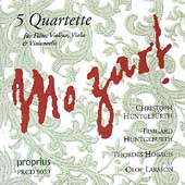 Mozart: Quartets for Flute / Christoph Huntgeburth, et al