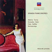 Spanish Piano Encores